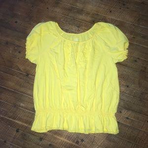 Fun & flirty embroidered boho Lane Bryant blouse